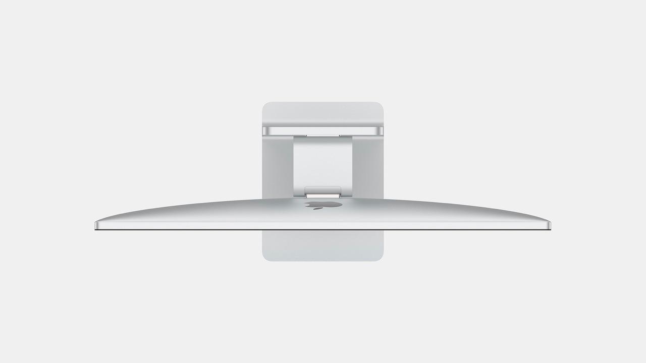 iMac concept 2020 met bovenaanzicht.