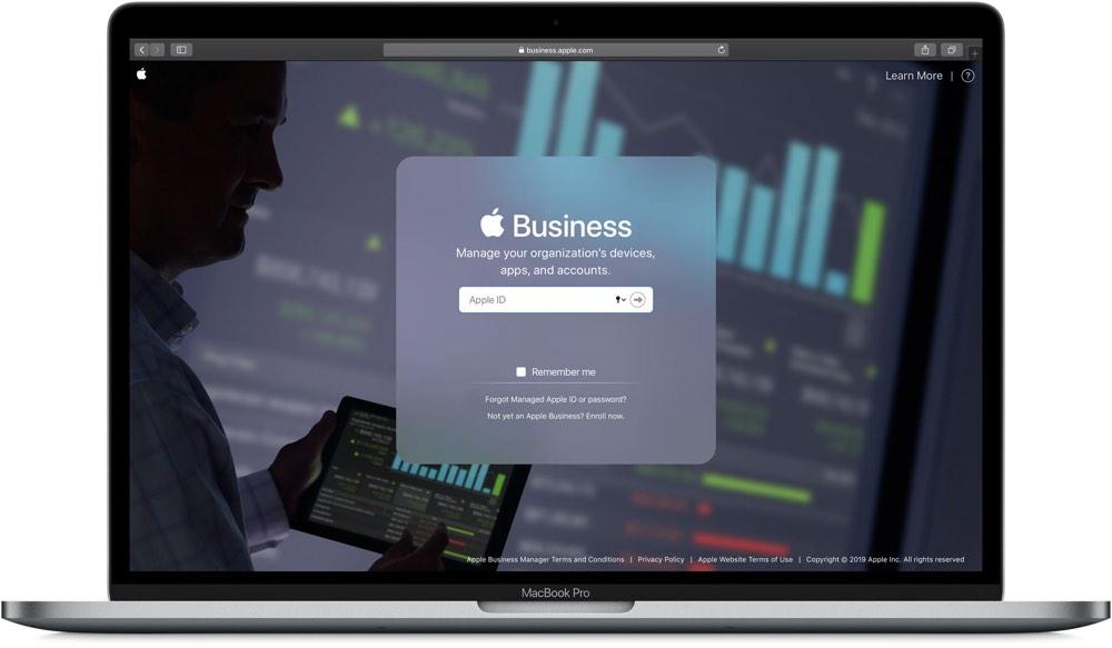 Apple Business Manager iPad beheren