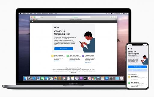 Apple COVID-app