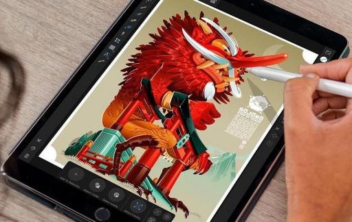 Tekenen met apps op de iPad