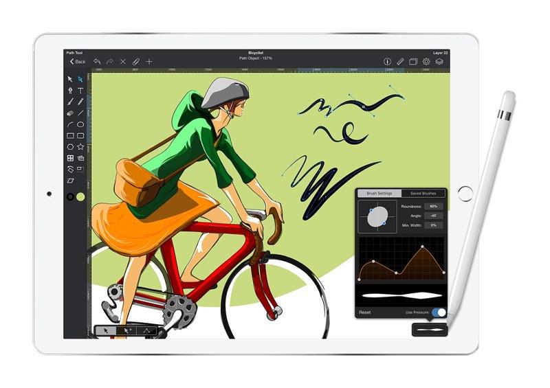 Graphic op iPad