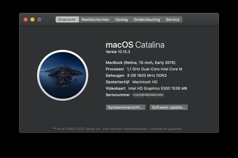 Mac-specificaties