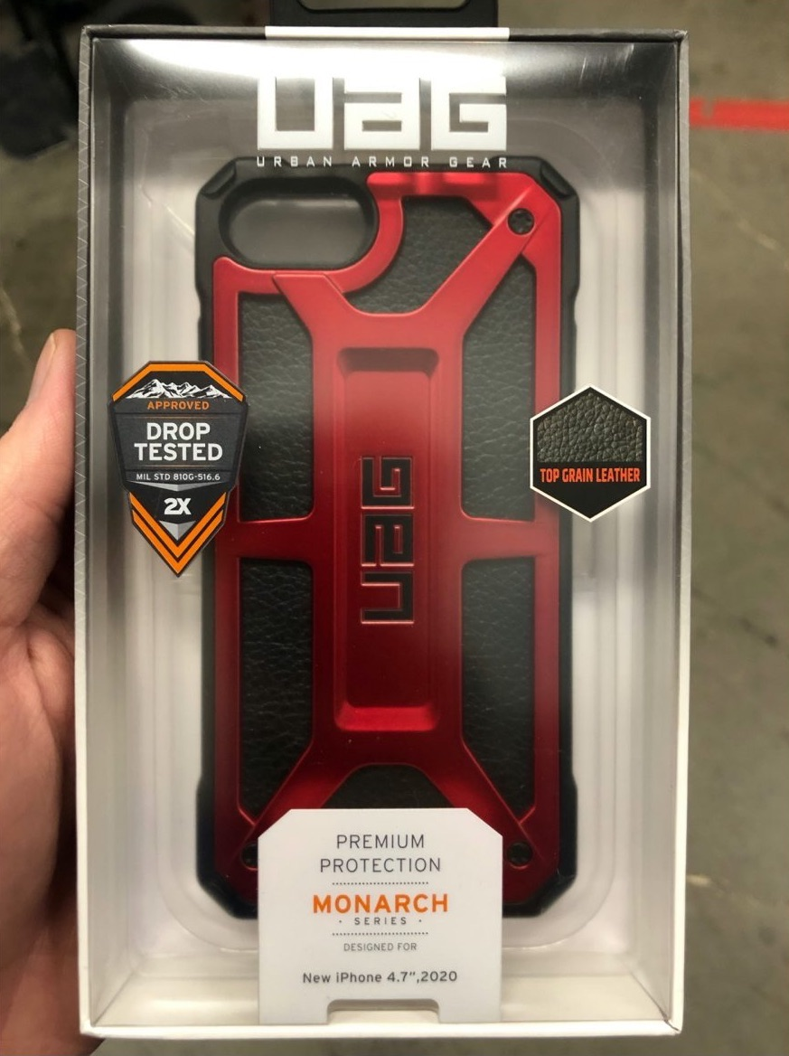 iPhone 9 case Urban Armor Gear.