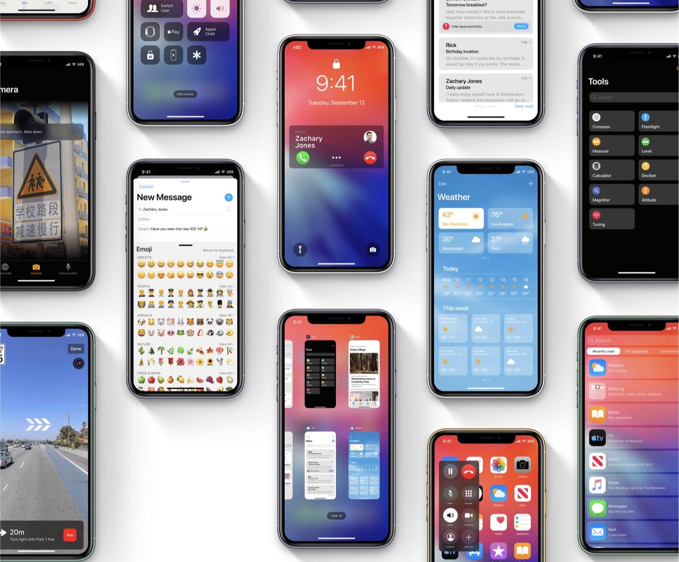 Nederlands concept iOS 14.