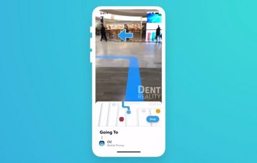 Dent Reality met indoor navigatie in augmented reality.