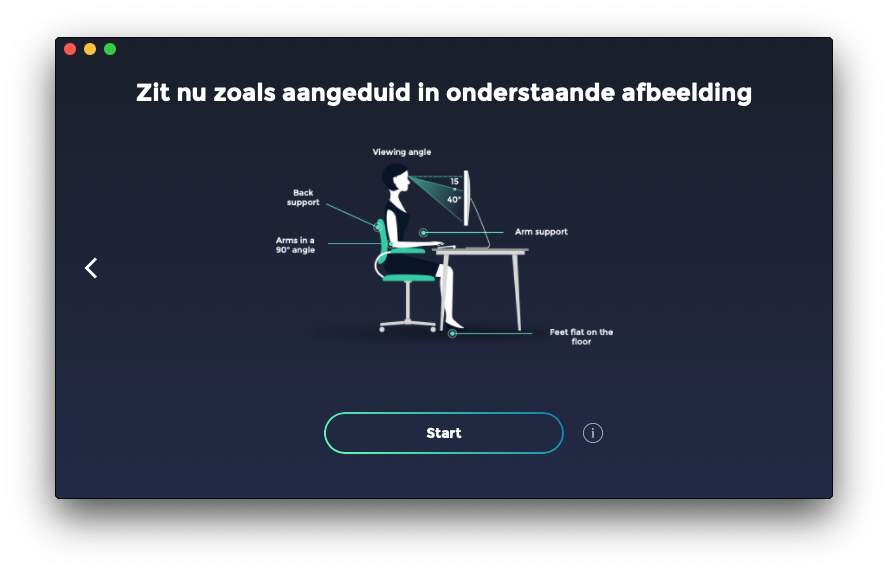 HLTH zithouding-app