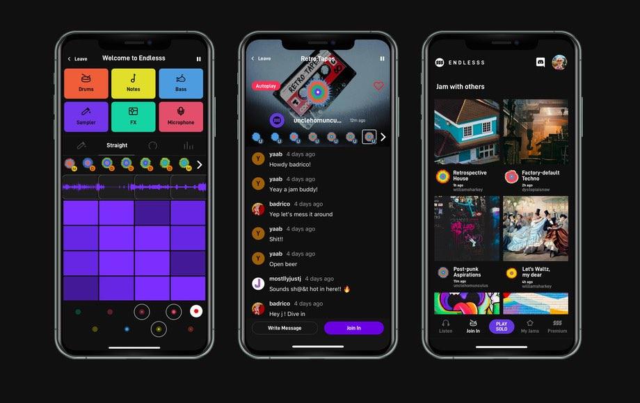 Endless iOS-app