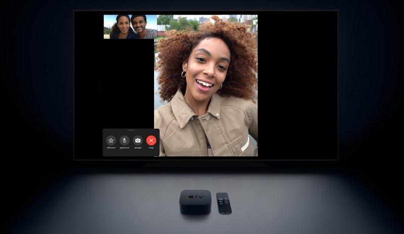 FaceTime op Apple TV