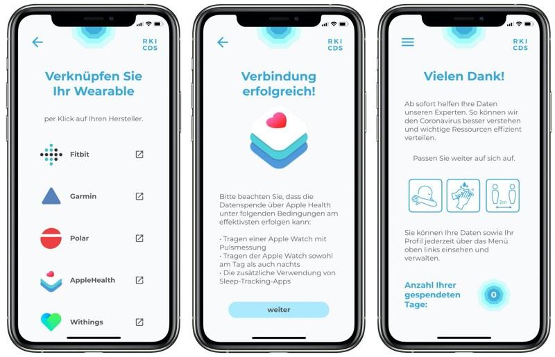 RKI Datenspende app