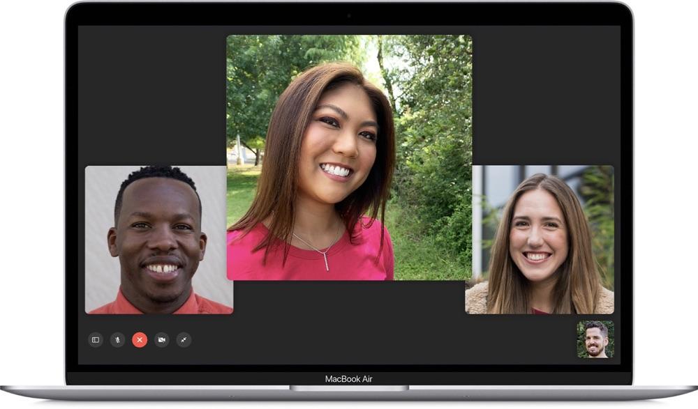 FaceTime op de Mac.