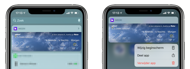 Yahoo Weather Widget