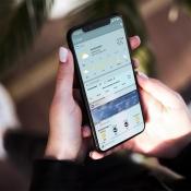 Weerwidgets voor iPhone