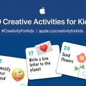 Creativiteit voor kinderen met activiteiten op iPad.