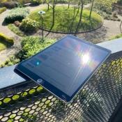 iPad in fel zonlicht gebruiken, oplossingen voor spiegelend scherm