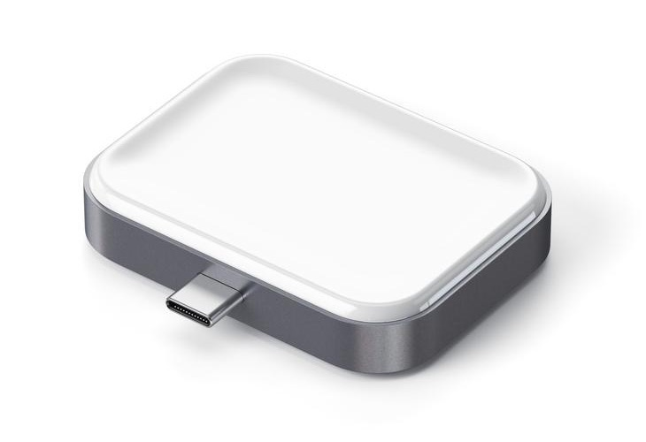 Draadloze AirPods oplaaddock van Satechi met USB-C.
