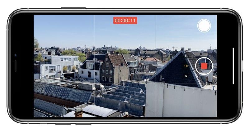 Videofilmen met iPhone