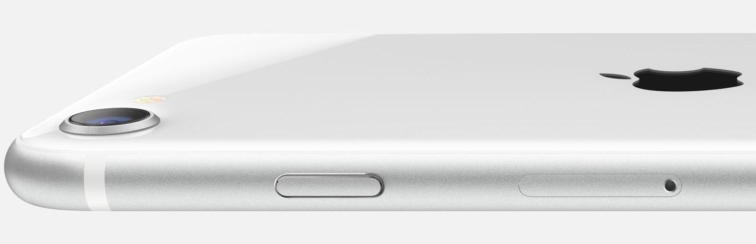 iPhone SE 2020 liggend
