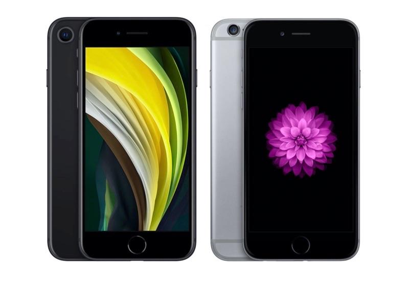 iPhone SE 2020 vs iPhone 6.