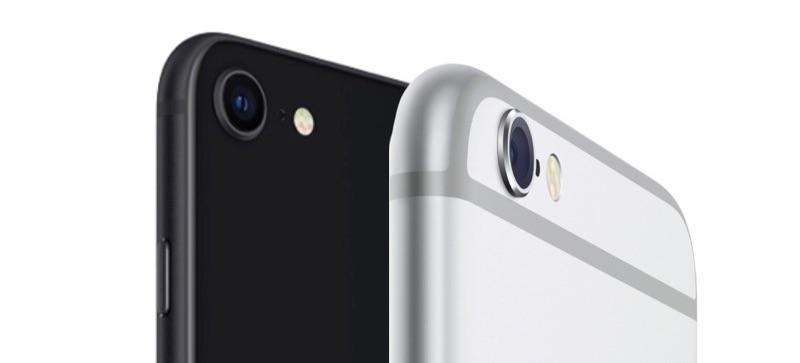 iPhone SE 2020 vs iPhone 6 camera.