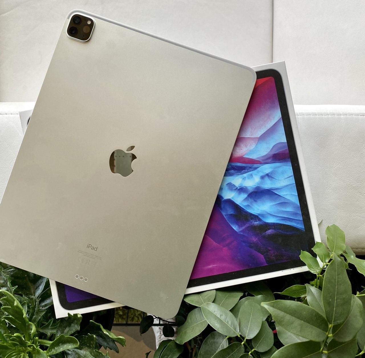 iPad Pro 2020 op de doos