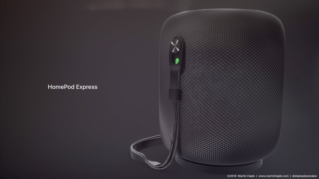 HomePod mini Express concept.