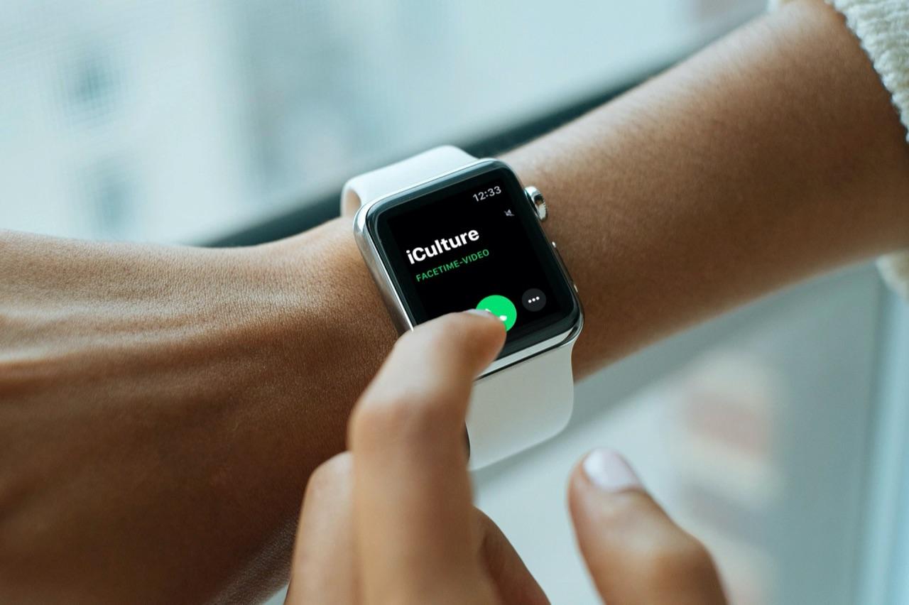 FaceTime op Apple Watch.