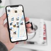 iPhone foto's: locatie