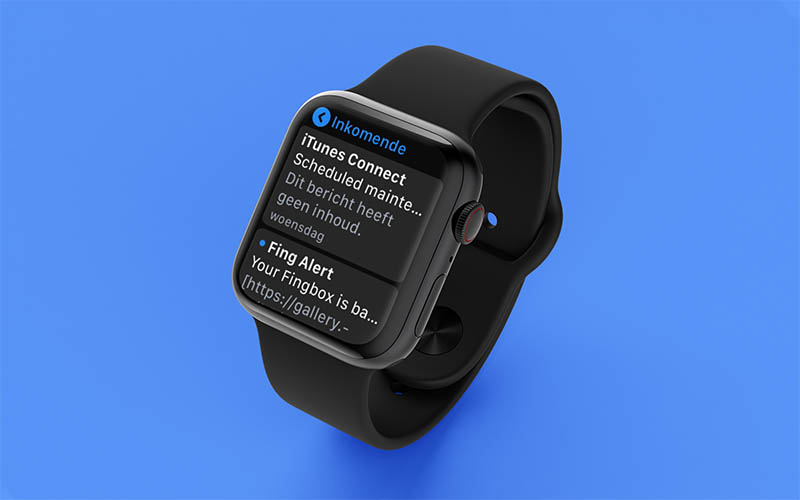 E-mail lezen op Apple Watch