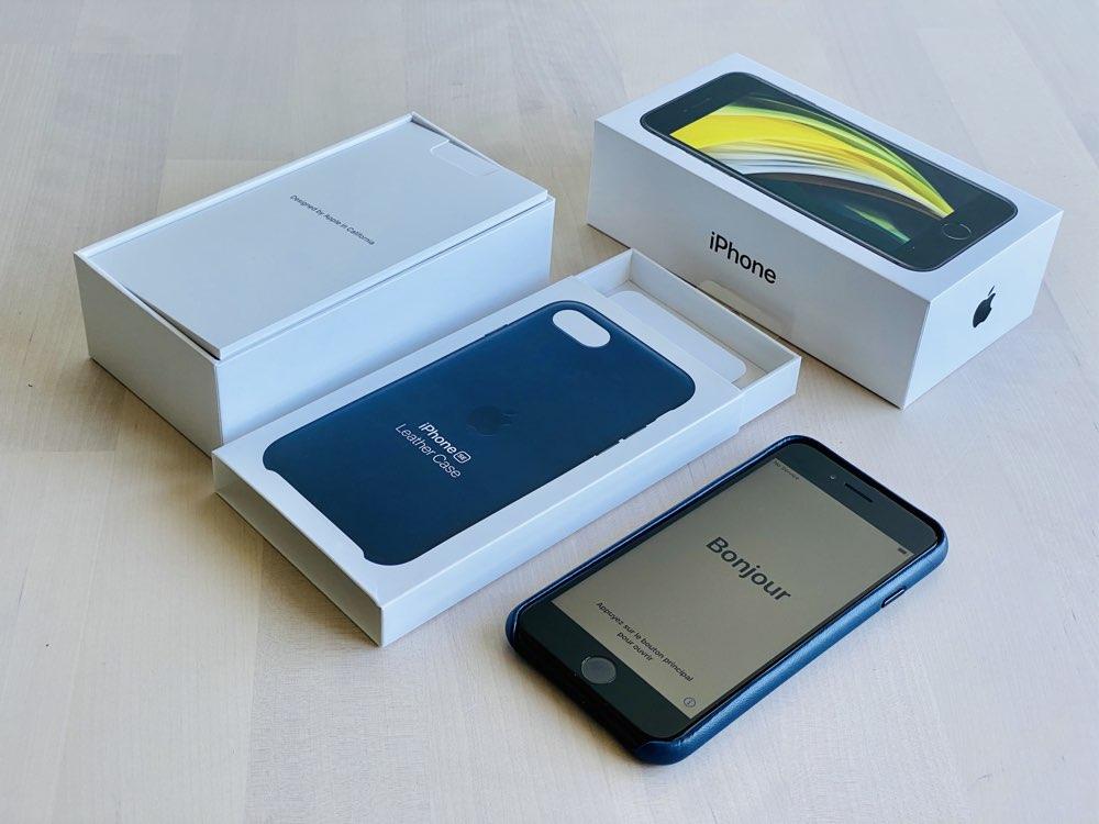 iPhone SE 2020 review uitgepakt.