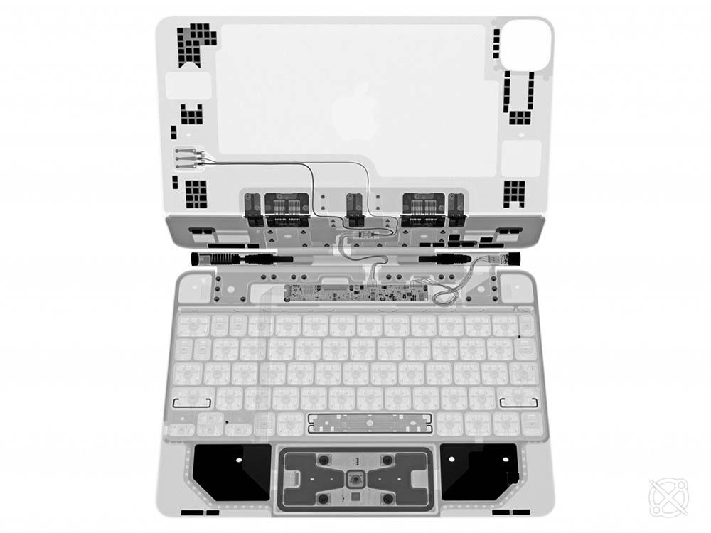 Magic Keyboard X-ray