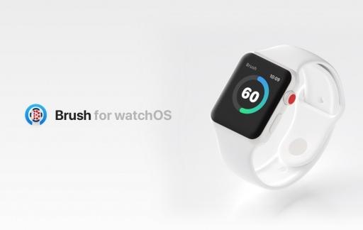 Brush voor Apple Watch.