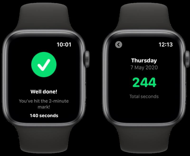 Brush tandenpoetsen met Apple Watch: resultaten.