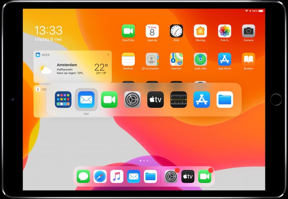Sneltoetsen voor de iPad voor Magic Keyboard en andere