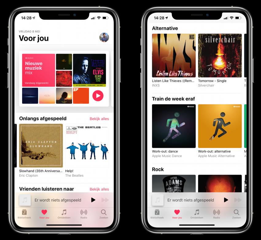 Apple Music Voor jou
