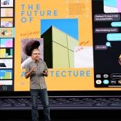 Greg Joswiak tijdens Apple-keynote event 2019