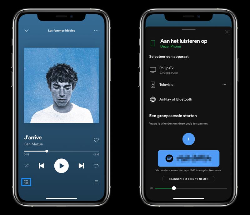 Spotify samen luisteren met Group Sessions.