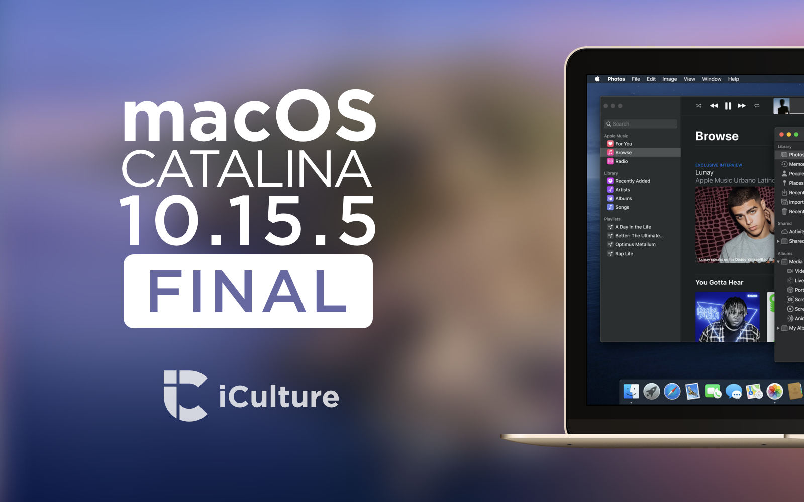 macOS Catalina 10.15.5 final.