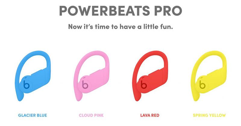 Powerbeats Pro 2020 kleuren