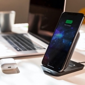 Mophie Wireless Charging Stand.