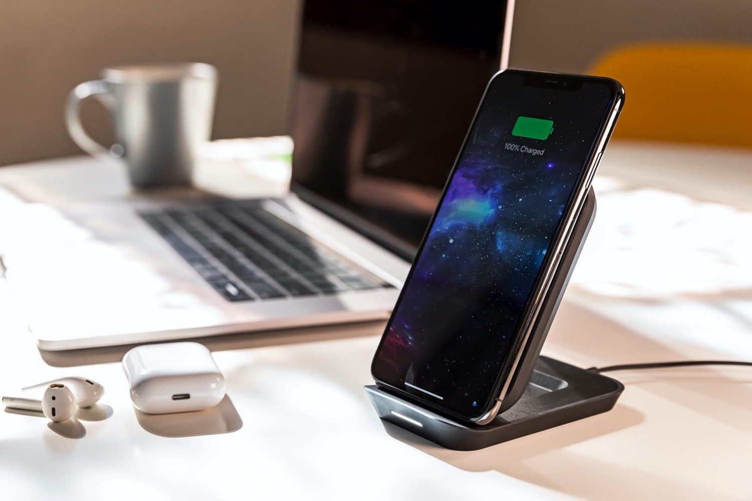Essager 10W Qi draadloze oplader voor iPhone 11 Pro Xs Max X