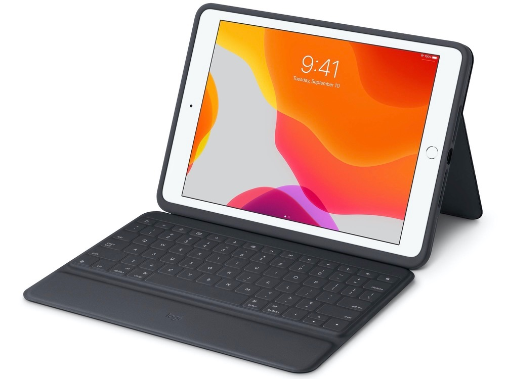 Logitech Rugged Keyboard Folio.