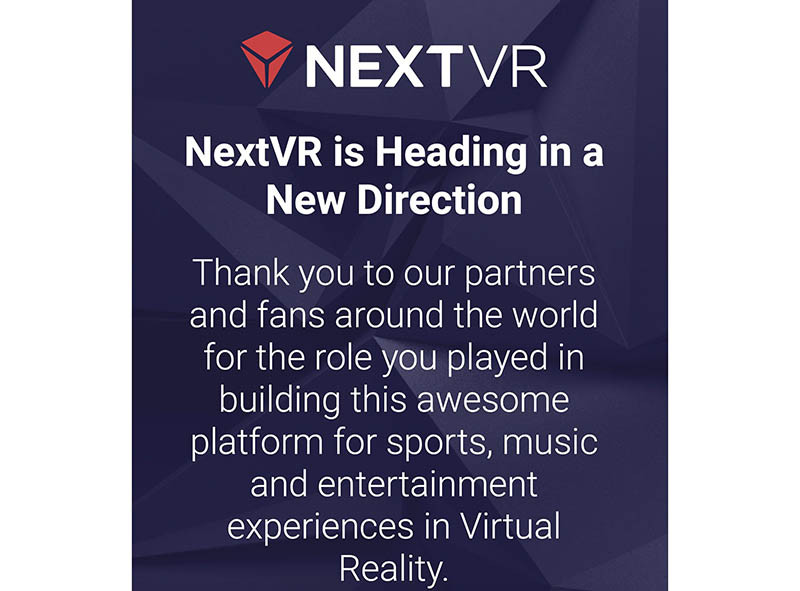 NextVR overname
