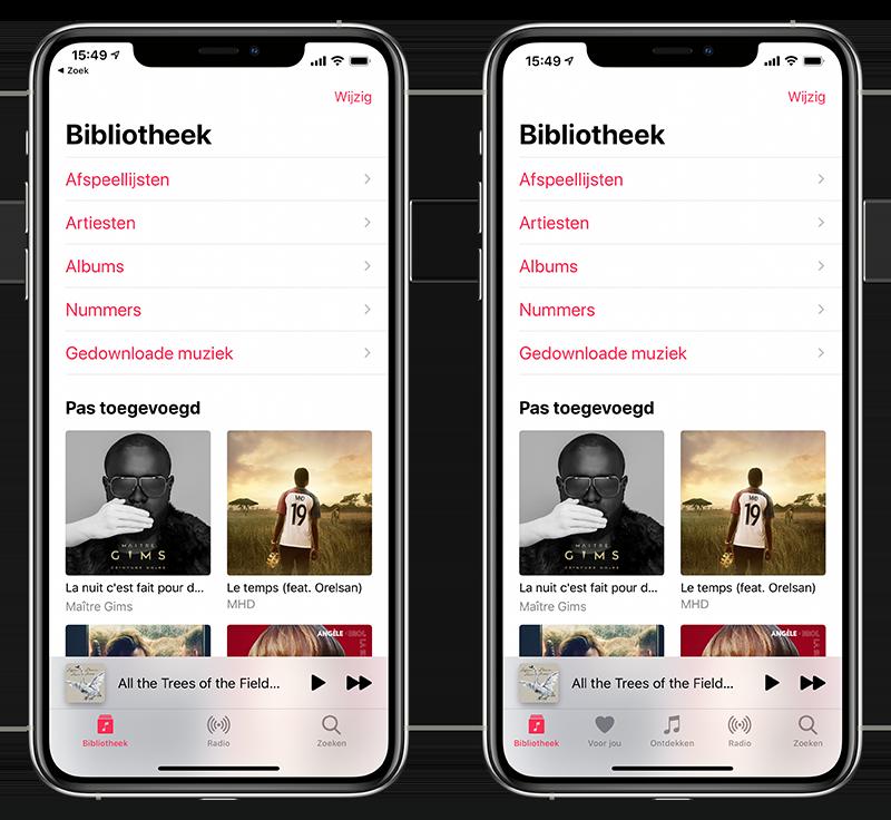 Apple Music uitschakelen