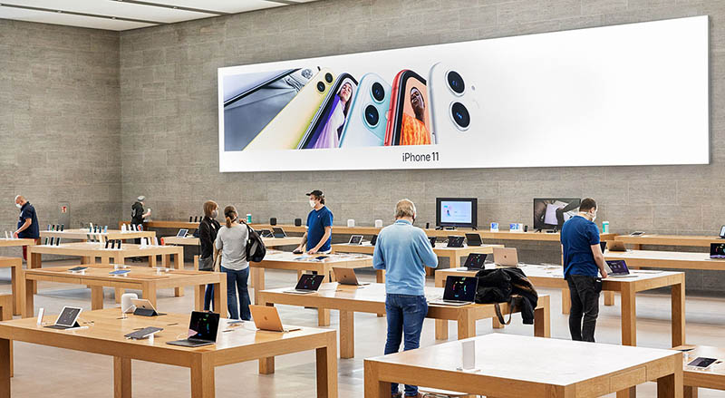 Apple Store heropening na coronacrisis