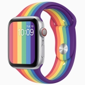 Apple Watch Pride sportbandje 2020.