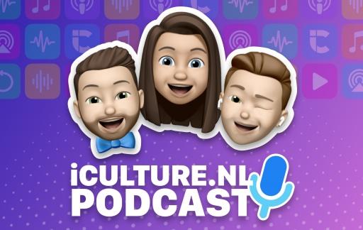 iCulture podcast met hosts Elger, Gonny en Benjamin als memoji