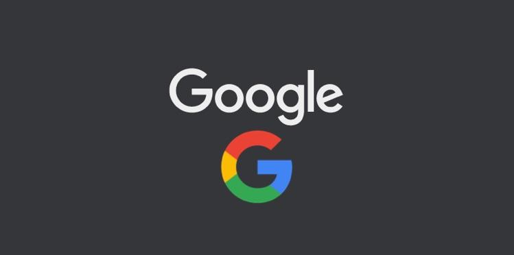 Google Dark mode.