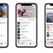 Apple Music concept.