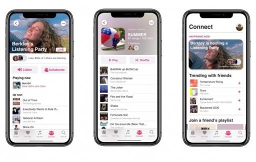Apple Music concept.