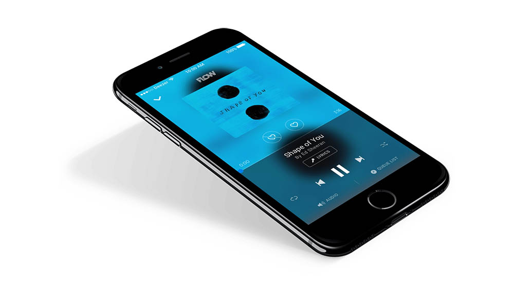 Deezer iPhone-app